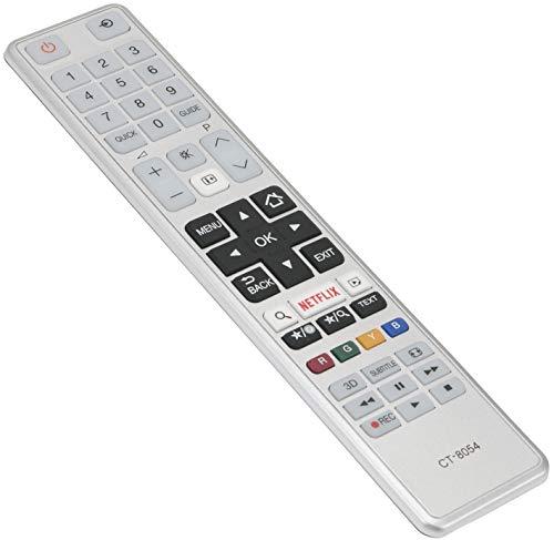 ALLIMITY CT-8054 Control Remoto reemplazado Apto para Toshiba 32L3433DG 32W3453DN 32L3543DG 32W3433 32W3543DG 32W3454DB 32L3441DG 32D3454DB 40L3433 40L3441 40L3443 40L3448 40L4331