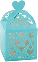Amscan 380015.121 Party Boxes, 50 pieces, Robin's-egg Blue