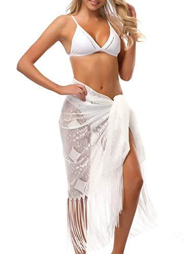 Bikini Cover Up dames zomer vrije tijd strand kwast tuniek perspectiefmeisje mode comfortabele kant normale lak strandtuniek