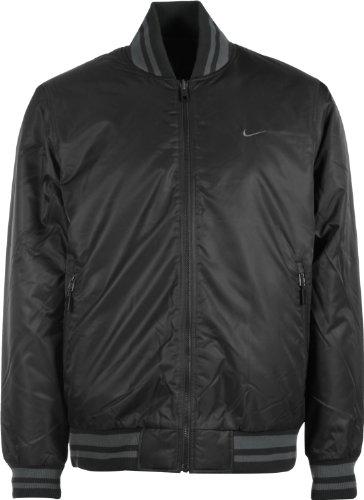 419012 011 Nike Padded AD Reversible Varsity Jacket M Black S