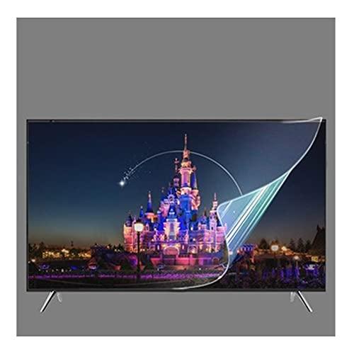 AMDHZ Adecuado para LCD, LED, 4K OLED y QLED y Pantalla Curva, Anti reflejante Protector de Pantalla, Prevenir el Reflejo de, Fácil de Pegar (Color : Matte Version, Size : 55 Inch 1221x703mm)