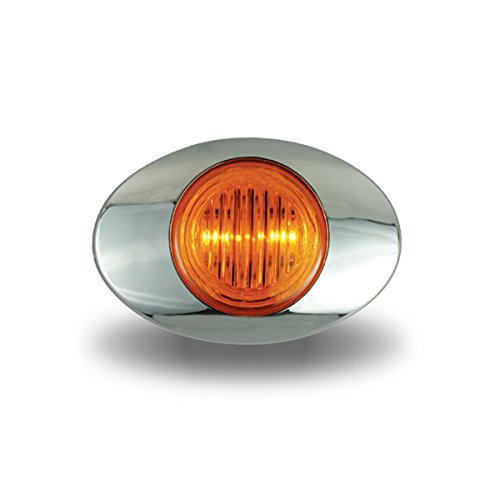"""Price comparison product image TRUX TLED-G2A Amber Marker LED Light""""Generation 2"""""""