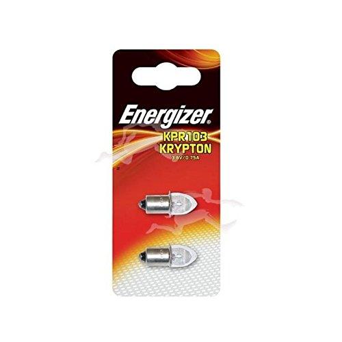 ampoule krypton - energizer kpr103 - blister de 2 ampoules