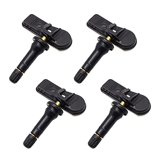 GLLXPZ 4PCS 9802003680 9811536380 Sensor de presión de neumáticos, para Citroen Berlingo C-Elysee C5 2012-2021
