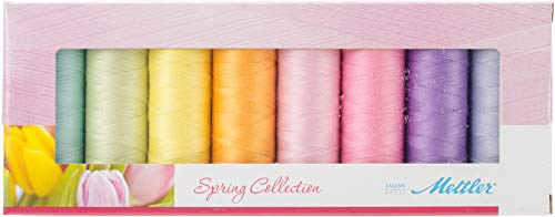 Mettler Seralon 100/% Polyester Standard 96 Pack Sewing Thread Embroidery Crafts