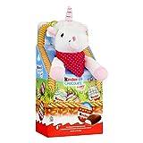 Kinder Joy 12 Chocolate Happy Eggs and Plush Toy - Unicorn