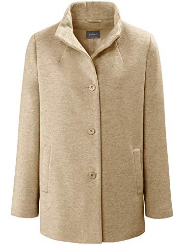 Basler Damen Jacke in Uni-Design mit Knopfleiste