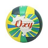 Balon VOLEY Playa Softee OXY - Color Verde Y Amarillo