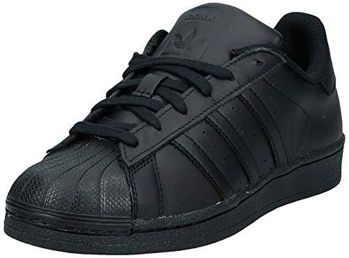 adidas Heren Superstar Foundation Flip Flops, Black Core Black Core Black Core Zwart Core Zwart Core Zwart Core Zwart, 36.5 EU