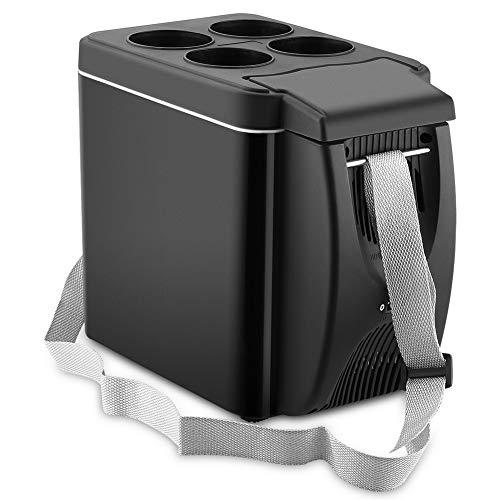 NATUREACT 6L Mini Refrigerador, Eléctrica Nevera de Coche Portátil Frigoríficos,para Hogar Aire Libre Camping, Viajes,Caravanas Picnics Festivales