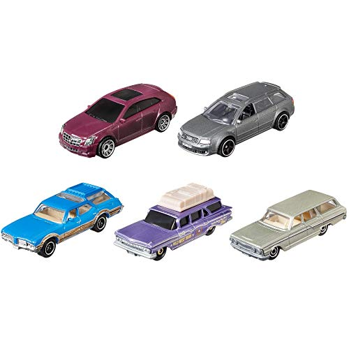 Mattel Matchbox C1817 5er-Geschenkset, 5 Fahrzeuge, zufällige Auswahl