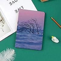 新しい ipad pro 11 2018 ケース スリムフィット シンプル 高級品質 防止 二つ折 開閉式 防衝撃デザイン 超軽量&超薄型 全面保護型 iPad Pro (11 インチ)自然のテーマトワイライトデジタル画像の間に波状の海で枯れ木