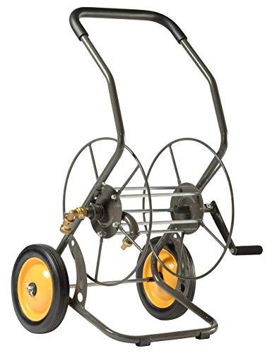 Haemmerlin Dévidoir d'arrosage 2 roues pour tuyau jusqu'à 55m