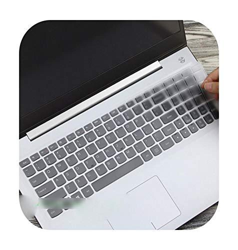 15.6 17.3 Silicone Keyboard Cover Skin for Lenovo Y70-70 300-17 Y50C B70-80 B71-80 V2000 V4000 Y50C G50-70 Z50 N50-Clear-