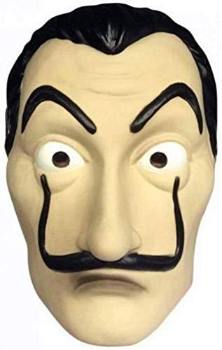 HMOS Salvador Maschera Face Mask Realistico Movie La Casa di Carta Maschera Prop per Halloween Festa di Natale Masquerade Bar Decorazione Festival, ECC.