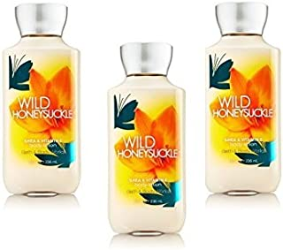 Bath and Body Works Signature Collection Wild Honeysuckle Body Lotion Pack of 3