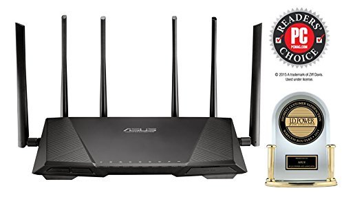 Asus AC3200 Review - Does it better than Nighthawk X6?