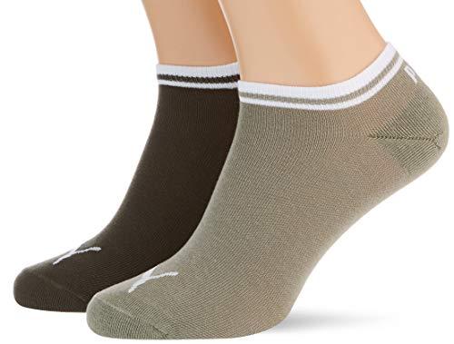 PUMA Unisex Heritage Sneaker - Trainer Socks (2 pack)