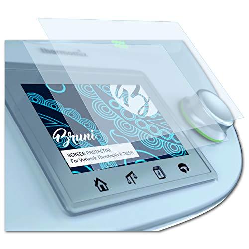 Bruni Schutzfolie passend für Vorwerk Thermomix® TM5®, Folie glasklare Displayschutzfolie (2X)