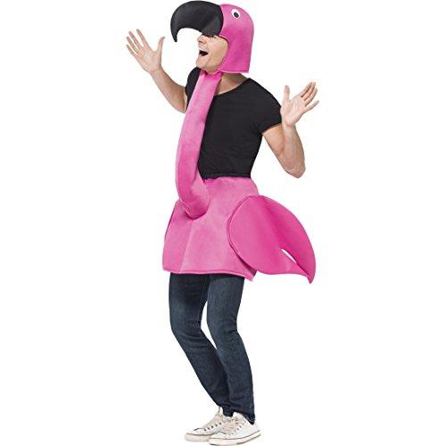 Disfraces DISFRAZ de flamenco de aves 1 tlg. Disfraz de Flamingo JGA disfraz divertido disfraz de animales de disfraces de carnaval de disfraces de carnaval de pájaro de peluche