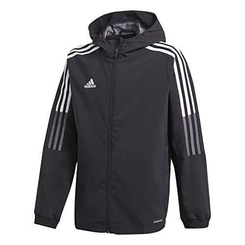 adidas GP4975 TIRO21 WB Y Jacket Unisex-Child Black 910Y