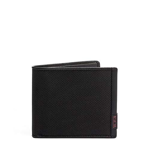 TUMI - Alpha Global Center Flip Passcase Wallet with RFID ID Lock for Men - Black