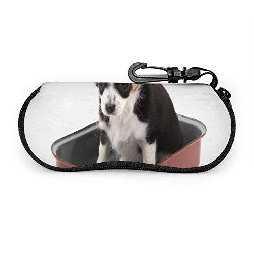 Funda de gafas Tracery sin fisuras patrón calmante. Estuche para gafas de sol suave para hombres, mujeres, viajes