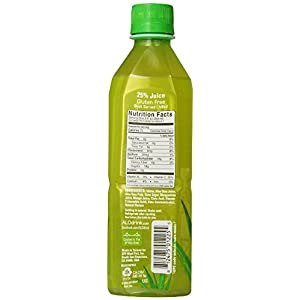 ALO Allure Aloe Vera Beverage, Mangosteen & Mango, 16.9 Ounce (Pack of 24) ALO-od Beverages Mango