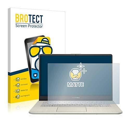 BROTECT Entspiegelungs-Schutzfolie kompatibel mit Asus VivoBook S14 S430UN Bildschirmschutz-Folie Matt, Anti-Reflex, Anti-Fingerprint