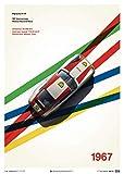 Automobilist Porsche 911R - Monza - Einzigartiges Design,