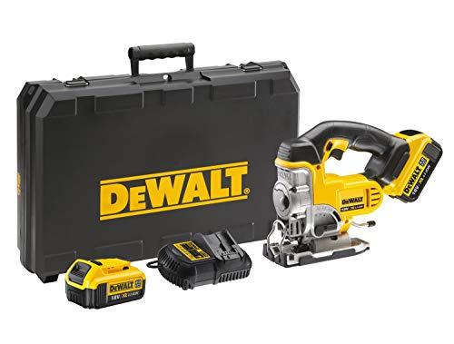 Dewalt DCS331M2-QW Sierra de calar XR 18V con 2 baterías Li-Ion 4, 9 W, 18 V