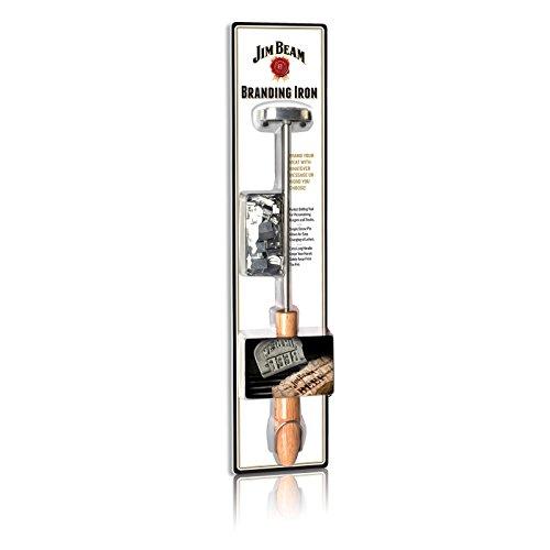 JIM BEAM Grillbesteck Brandeisen-Branding Iron