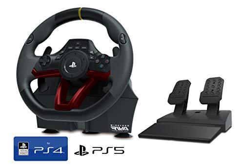 Volante y Pedales PS4 PS5 Inalámbrico [Nuevo Modelo] Licencia Oficial Sony Playstation
