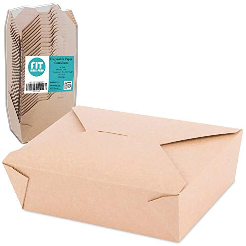 saco papel fabricante Fit Meal Prep
