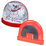 Kipp Brothers Make-Your-Own Snow Globe Magnet Craft Kits - Pack of 8