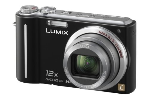 Panasonic DMC-TZ7EG-K Digitalkamera (10 Megapixel, 12-fach opt. Zoom, 7,6 cm Display, Bildstabilisator) tiefschwarz