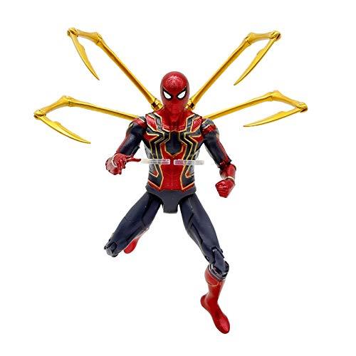 Avengers Marvel Marvel Spiderman acero juguete metal pintura de aerosol de Spiderman...