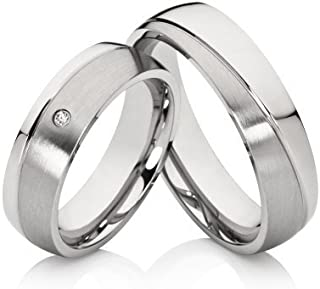 2 Wedding Rings Marriage Rings Engagement Rings Noble Engraving Wedding Rings Incl