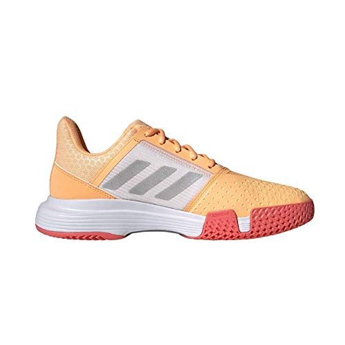 adidas CourtJam Bounce W, Zapatillas de Tenis Mujer, NARACI/Plamet/ROSBRU, 38 2/3 EU ✅