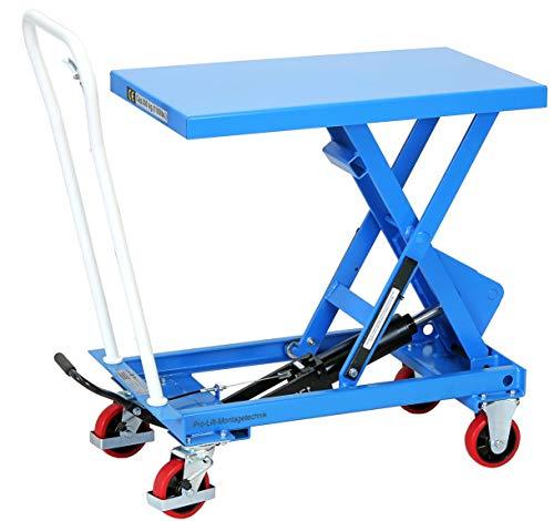 Pro-Lift-Werkzeuge Hubtisch-Wagen 500 kg Hebebühne 910 mm Hubhöhe fahrbarer Scherenwagenheber mobiler Plattformwagen