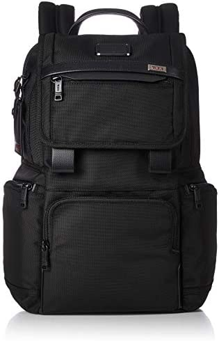 TUMI Alpha 3 Flap Backpack 15 Inch Computer Bag for Men and Women Black product image