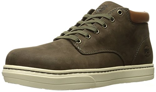 Timberland PRO Men's Disruptor Chukka Alloy Safety Toe EH Industrial and Construction Shoe, Donkey Nubuck, 9 W US