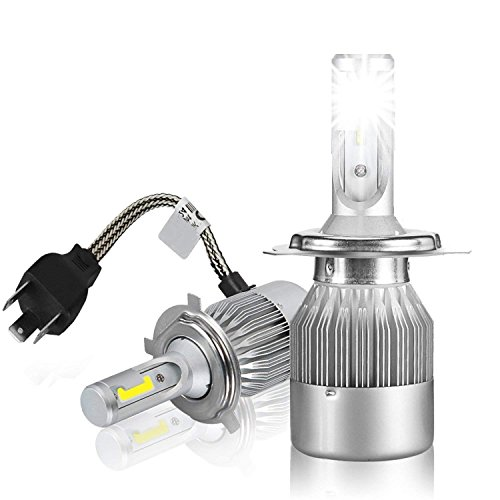 Tiempo de saldos PAR de lámparas de LED para coche Moto C6H46000K...