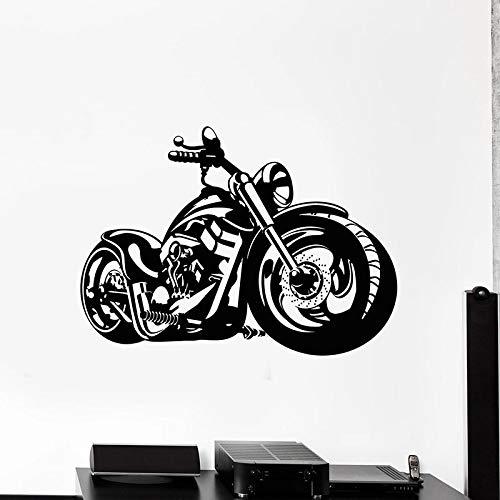Muursticker voor motorfietsen, sport, extreme sport, motorfiets, garage, jerrycan, decoratie voor thuis, frisse deuren en ramen, vinylsticker, 57 x 78 cm