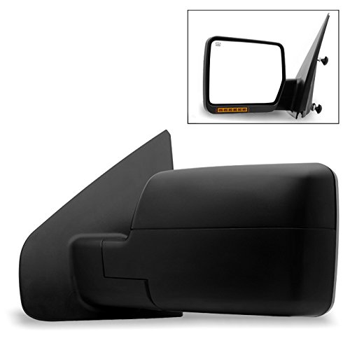 For 2004 2005 2006 Ford F150 Power Heated Driver Left Side Mirror w/Build-in LED...