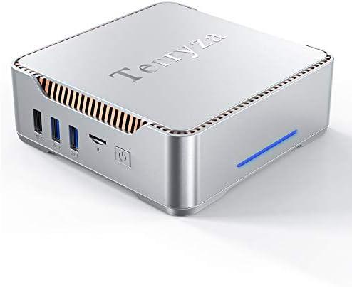 Mini PC Windows 10 Pro with Intel Celeron N3350 8GB RAM 128GB ROM Micro Desktop Computer with product image