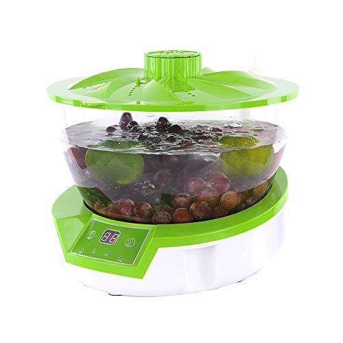 RMXMY Haushalt Obst und Gemüse Desinfektion Maschine, 4L Kapazität ungiftige und harmlose Maschine Mehrzweck Intelligent Active Oxygen Sterilisation Fleisch De-Hormon Tauchdesinfektion Maschine