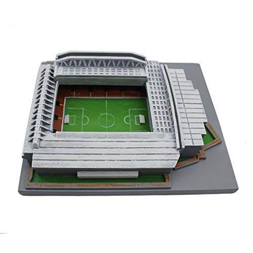 Mankvis 3D Anfield Stadium Puzzle-Modell, Liverpool Football Club Heimstadion Modell Kinder Pädagogische Pädagogische Puzzle-Spiel Requisiten