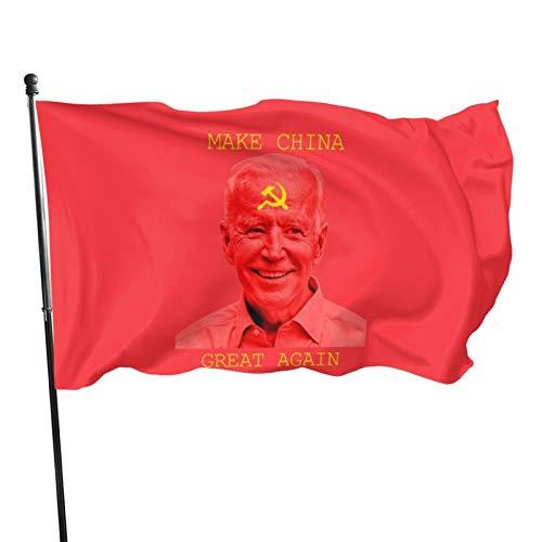 N+A Joe Biden Make China Great Again Polyester Flag Banner