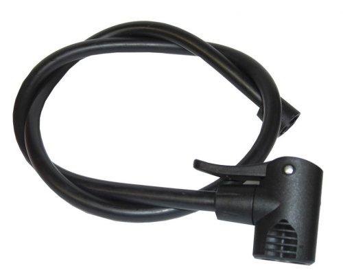 XLC Unisex– Erwachsene Luftpumpe Ersatzschlauch PU-X03, Schwarz, One Size